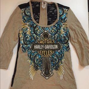 Harley Davidson shirt size medium